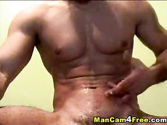 Nasty young gay loves to taste his sperm