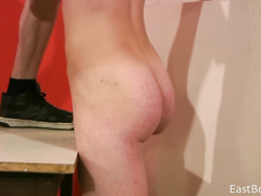 Amateur gay is blowing the hairy cock